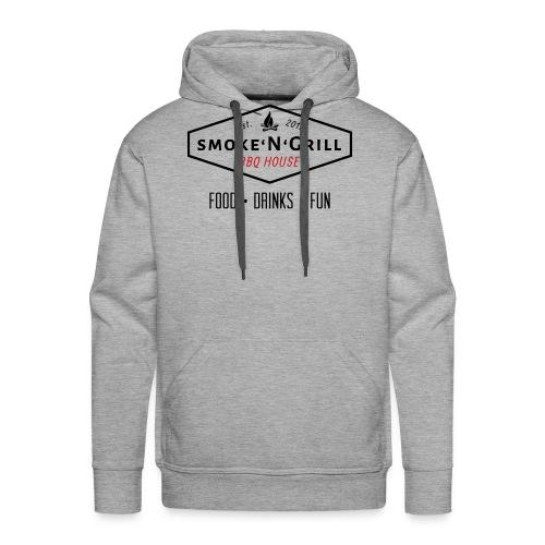 Logo Smoke N Grill OFF - Männer Premium Hoodie