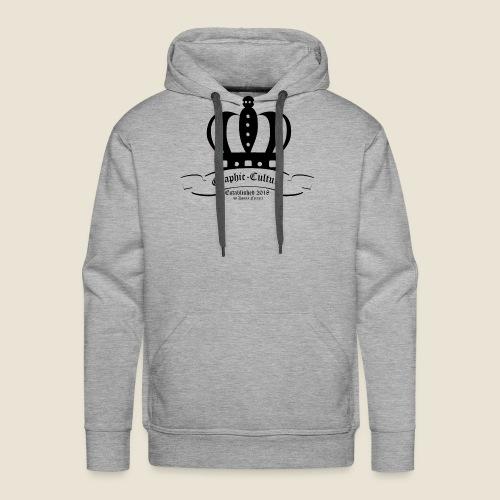 Krone Graphic-Culture - Männer Premium Hoodie