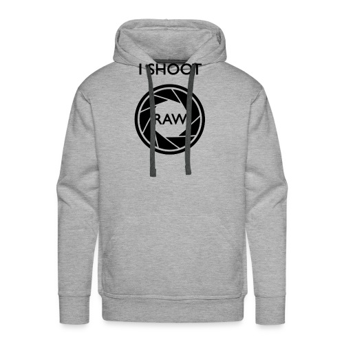I SHOOT RAW Clothing - Männer Premium Hoodie