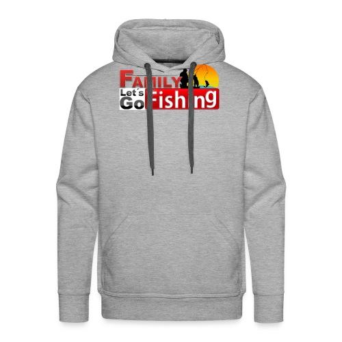 FAMILY LET'S GO FISHING FUND - Men's Premium Hoodie