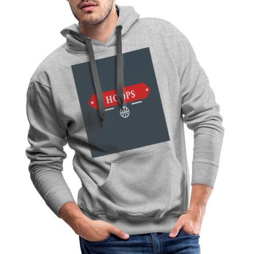 HOOPS - Sweat-shirt à capuche Premium pour hommes