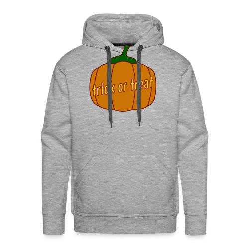 Halloween trick or treat und Kürbis - Männer Premium Hoodie