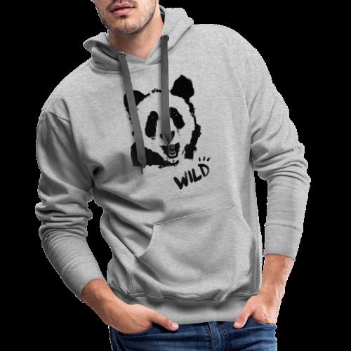 WILD PANDA - Männer Premium Hoodie