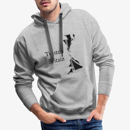 Twisted Britain Logo - Men's Premium Hoodie