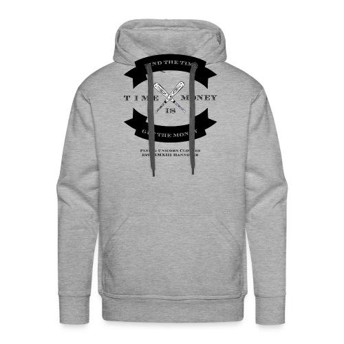 TIME IS MONEY - Männer Premium Hoodie