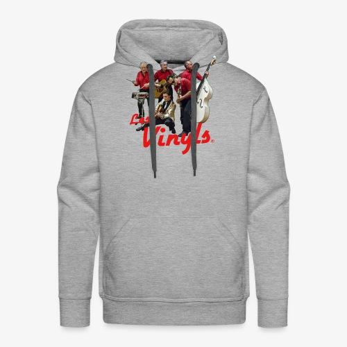 Les Vinyls - Photo Couleur - Sweat-shirt à capuche Premium pour hommes