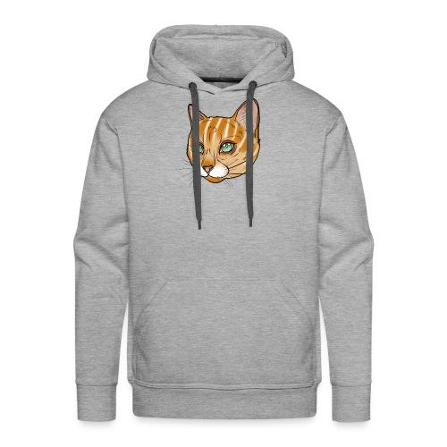 Tiger Katze - Männer Premium Hoodie