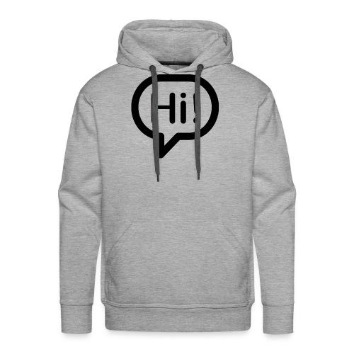hi - Männer Premium Hoodie