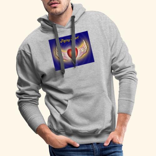 Flying Heart - Männer Premium Hoodie