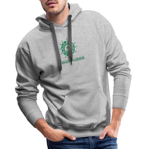 Ganesha Mantra OM Symbol Yoga Tshirt Hoodie - Männer Premium Hoodie