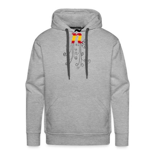 eÑe - Sudadera con capucha premium para hombre