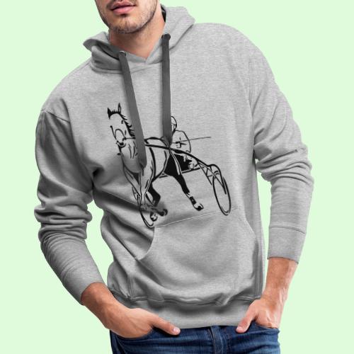Les Trotteurs - Sweat-shirt à capuche Premium pour hommes