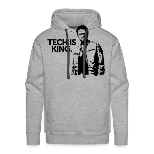 Tech Is King - Men's Premium Hoodie