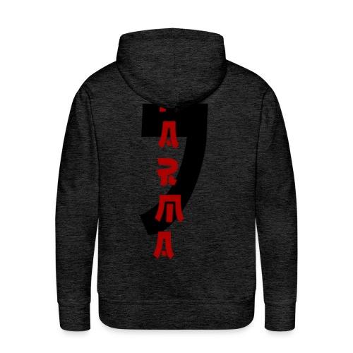 KARMA - Sweat-shirt à capuche Premium pour hommes