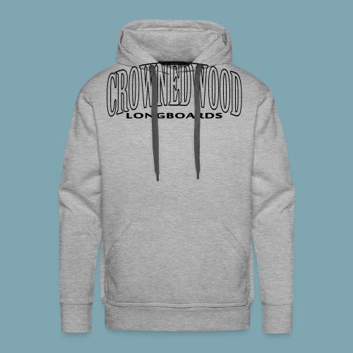 CROWNEDWOOD_Longboards - Männer Premium Hoodie
