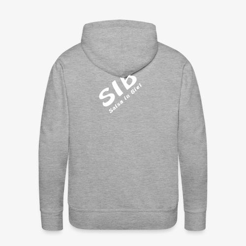 Ecole de danse SIB / Salsa Dans Biel - Sweat-shirt à capuche Premium pour hommes