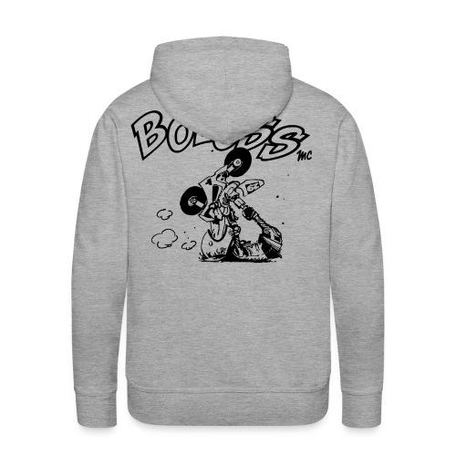 prepa png - Sweat-shirt à capuche Premium pour hommes