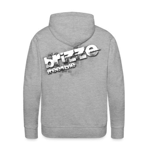 Brizze Freestyle on wall - Herre Premium hættetrøje