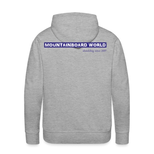 Logo lila - Männer Premium Hoodie