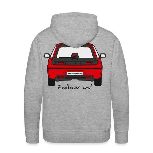 follow us - Sweat-shirt à capuche Premium pour hommes