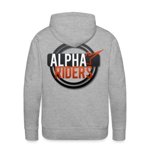 Alpha Riders Logo Pulli png - Männer Premium Hoodie