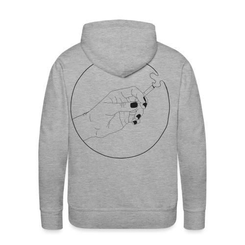 Homme vernis - Sweat-shirt à capuche Premium pour hommes