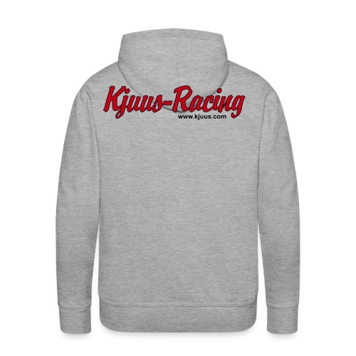 Kjuus-Racing - Premium hettegenser for menn