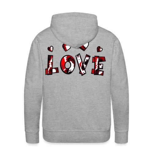 LOVE - Männer Premium Hoodie