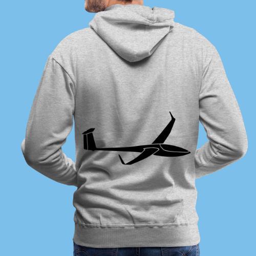 DG808c Segelflieger Geschenk Segelflugzeug Gleiten - Männer Premium Hoodie