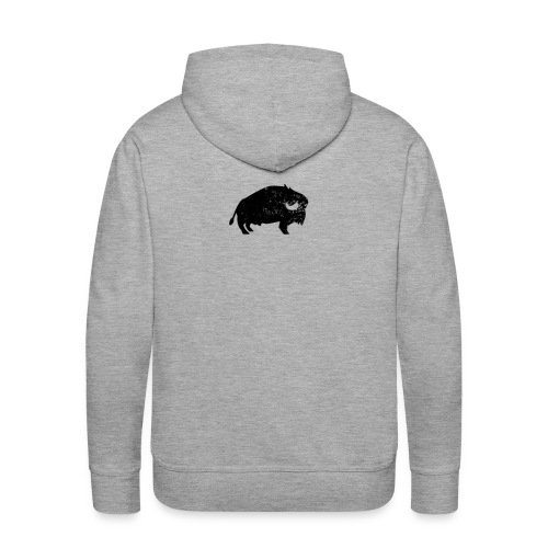Bison Büffel Vintage - Männer Premium Hoodie