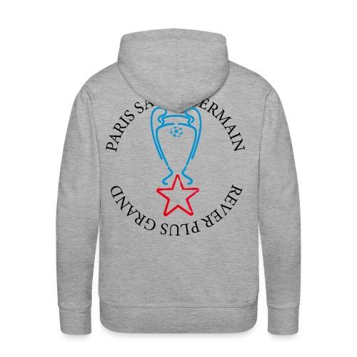 Rever plus grand Cup - Sweat-shirt à capuche Premium pour hommes