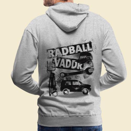 Radball   Vaddr - Männer Premium Hoodie