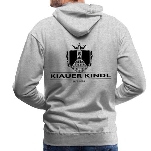 Kiauer Kindl - schwarz - Männer Premium Hoodie