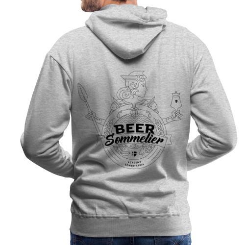Beer Sommelier Academy - Valkyria - Premiumluvtröja herr