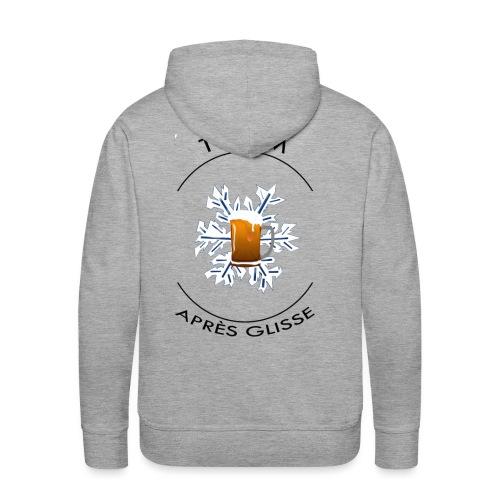 Gamme Produit Team Après Glisse - Sweat-shirt à capuche Premium pour hommes