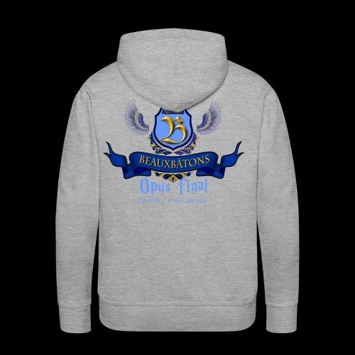 LOGO BB 3 - Sweat-shirt à capuche Premium pour hommes