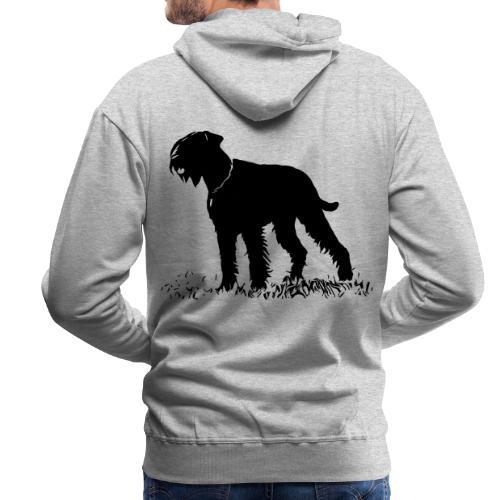 Riesenschnauzer / Schnauzer Hunde Design Geschenk - Männer Premium Hoodie