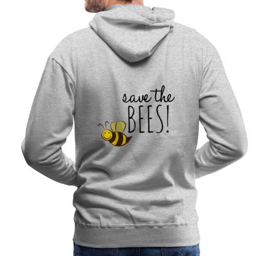 SAVE THE BEES! (Rettet die Bienen) - Männer Premium Hoodie