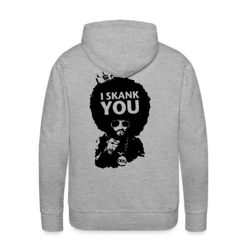 skank youblackvectotshirt2 - Sweat-shirt à capuche Premium pour hommes
