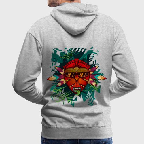 Back to the Roots - Sweat-shirt à capuche Premium pour hommes