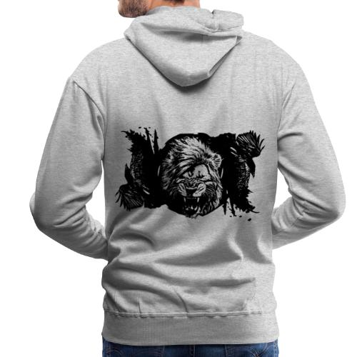 Raven & lion - Sweat-shirt à capuche Premium pour hommes