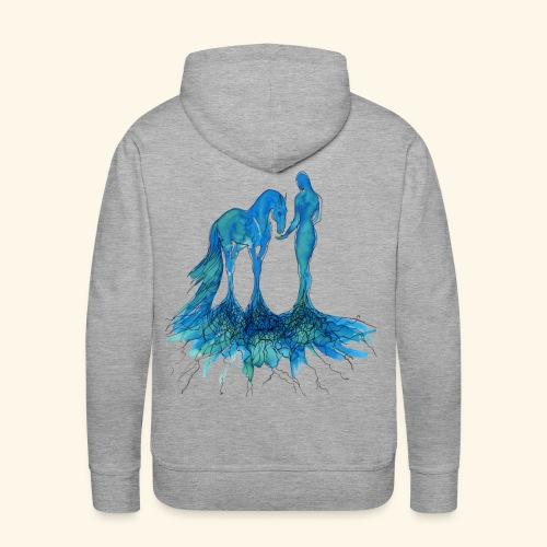 Racine - Sweat-shirt à capuche Premium pour hommes