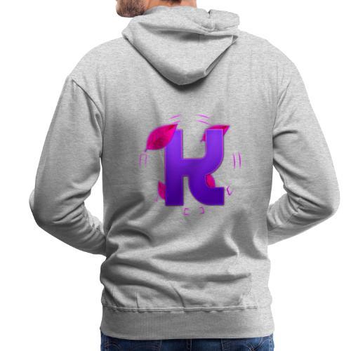 youtube logo shirt png - Men's Premium Hoodie