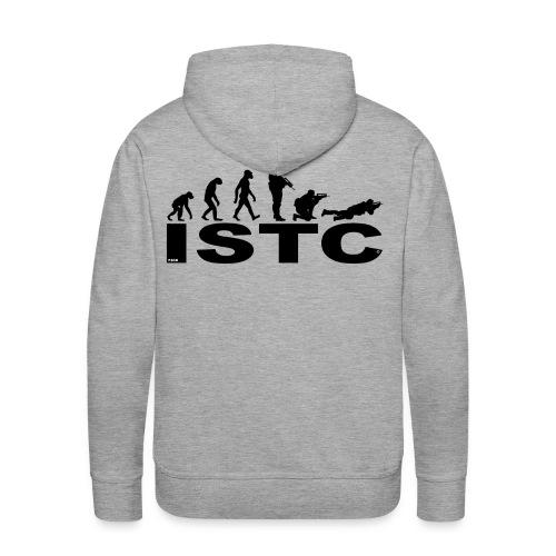ISTC NOIR - Sweat-shirt à capuche Premium pour hommes
