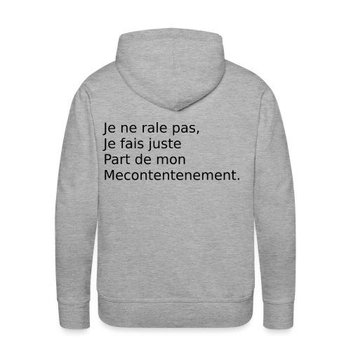 Mecontent - Sweat-shirt à capuche Premium pour hommes