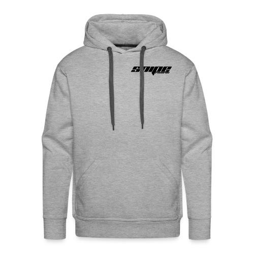 T-Shirt schwarz vorne - Männer Premium Hoodie