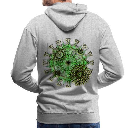 Virus 150220 ds. A - Men's Premium Hoodie