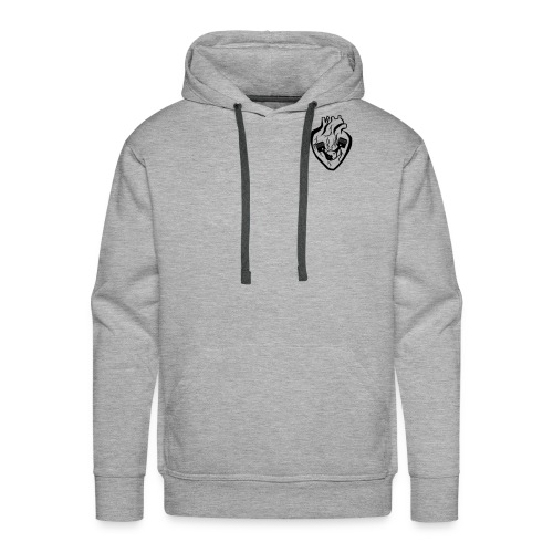 My Heart Is My Engine - Men's Premium Hoodie