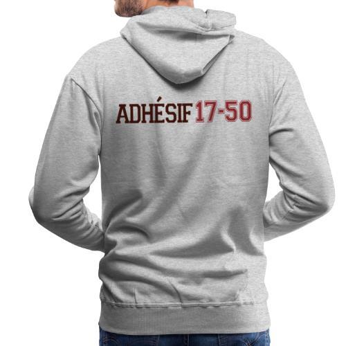 ADHESIF - Sweat-shirt à capuche Premium pour hommes