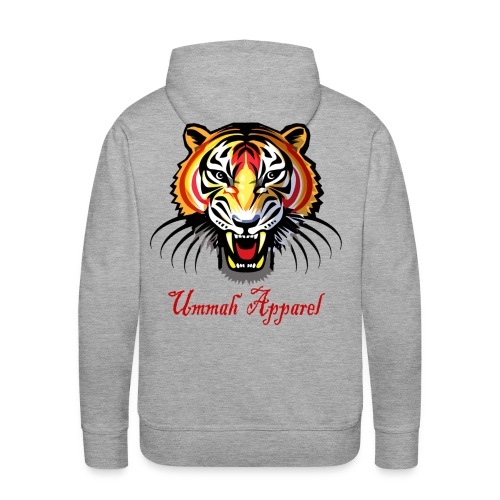 ummah apparel tiger png - Men's Premium Hoodie